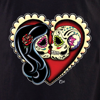 Cali Ashes Red Heart Shirt