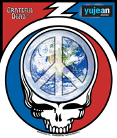 Grateful Dead Stickers, Patches, Keychains and More!