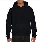 Unisex Black Hoodie
