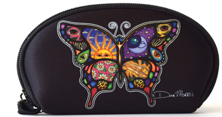 Dan Morris Celestial Day and Night Butterfly Wallet | Celestial