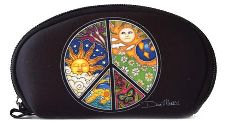 Dan Morris Celestial Peace Sign Wallet | Celestial