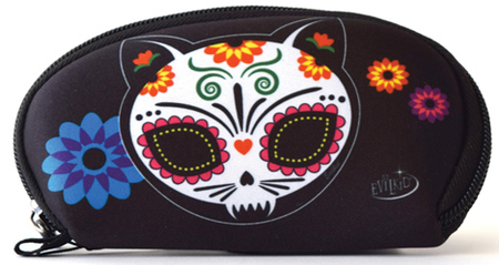 Evilkid Gato Muerto Sugar Skull Wallet | Wallets and Pouches