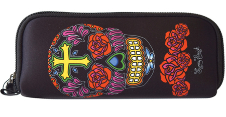 Sunny Buick Rose Cross Sugar Skull Wallet | Wallets and Pouches