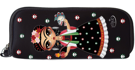 Evilkid Frida Wallet | Sugar Skulls