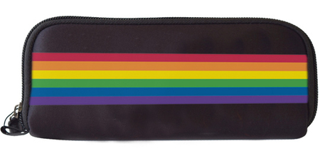 Rainbow Stripe Wallet | Peace and Eco